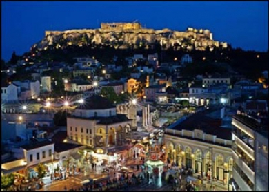 A Night Out in Athens