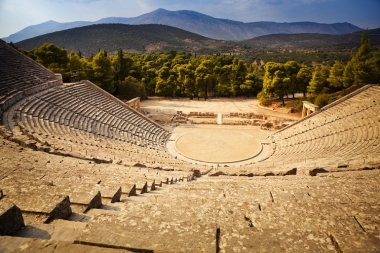 Fly & Drive to Peloponnese & Delphi